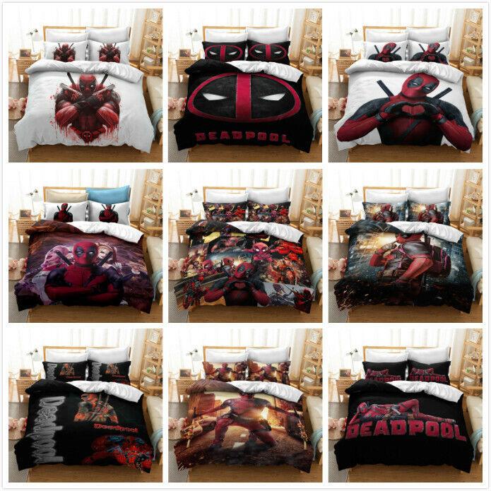 White Double Reversible Duvet Cover+2 Pillowcases Bedding Set BAMBI DISNEY