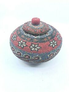 Vintage-Beaded-Woven-Basket-From-Bali