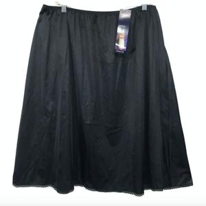 Vintage-Vanity-Fair-NOS-NWT-Half-Slip-Skirt-Slippery-Slinky-Satin-Glance-3XL