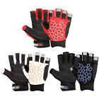 New Sailing Gloves Short Finger Yachting Kayak Dinghy Fishing Glove Waterski