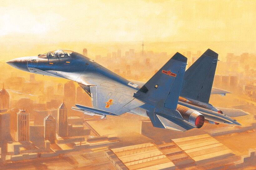 HobbyBoss 1 48 PLA Shenyang J-16 Fighter
