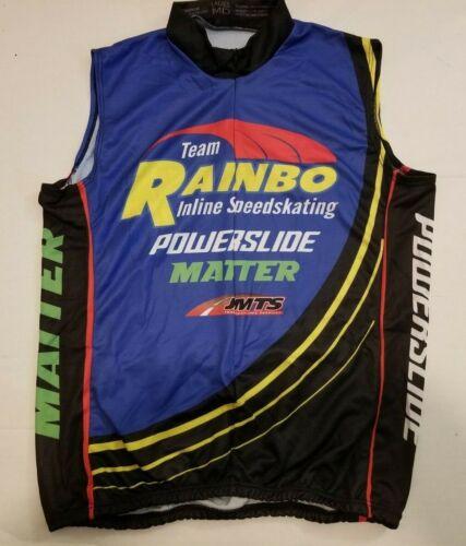Details about  /Team Rainbo Inline Skate Team Sleeveless Jerseys men/'s or women/'s NEW!
