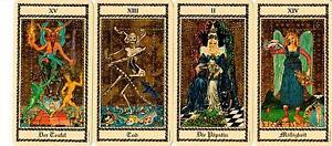 Medieval-Scapini-Tarot-Luigi-Scapini-rar-selten-Sammler-deutsch-eingeschweisst