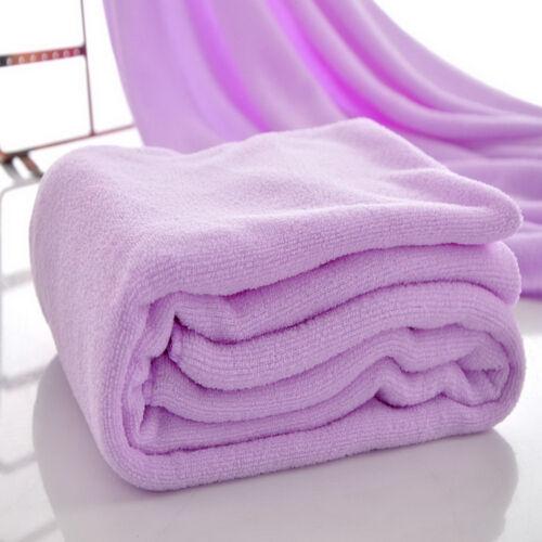 Microfibre Cotton Beach Bath Towel Sports Travel Camping Gym Lightweight 70X140/%