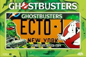 Ghostbusters-Placa-ECTO-1-License-Plate-Nuevo-York-Pelicula-Gadget-Ghostbusters