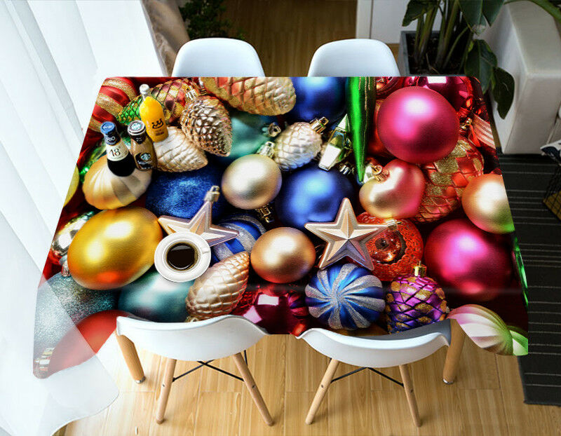 3D Christmas Xmas 65 Tablecloth Table Cover Cloth Birthday Party AJ WALLPAPER UK