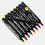 Markers 40//80 Colours Graphic Drawing Painting Alcohol Art Dual Tip Sketch Pens