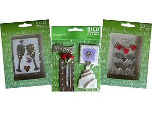 Happy-Metal-Accessoires-versch-Motive-RICO-Design-Einladungen-Karten-etc