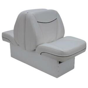 DeckMate Back to Back White Boat Seat | eBay