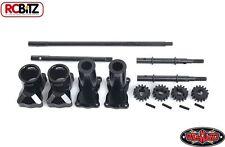 Rear Portal Axle Units for Axial Wraith AX10 INCREASE Axle Clearance Z-A0099