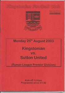 2003-04-League-Kingstonian-v-Sutton-United