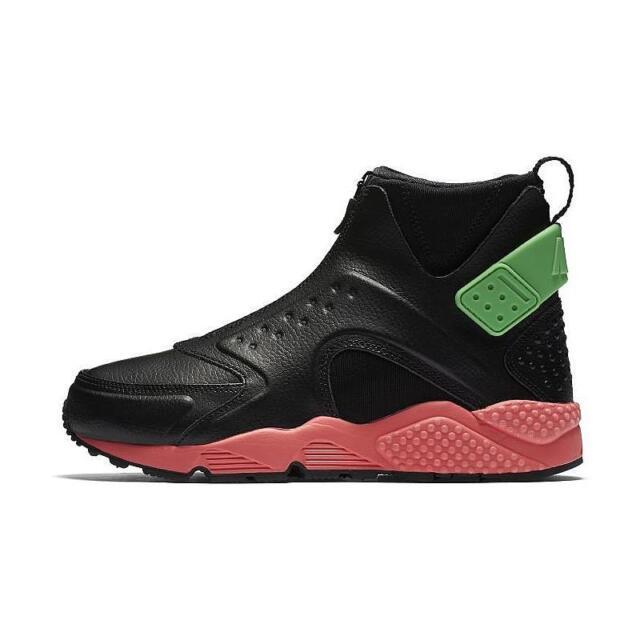 a28542f47ee2 Size 5   9   10 Nike Women AIR HUARACHE Run MID Shoes 807313 003 Black