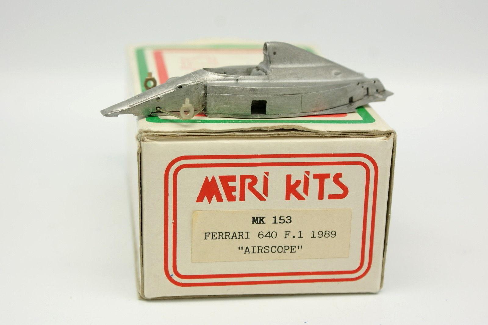Meri Kit à monter blanc Metal 1 43 - Ferrari 640 F1 1989 Airscope