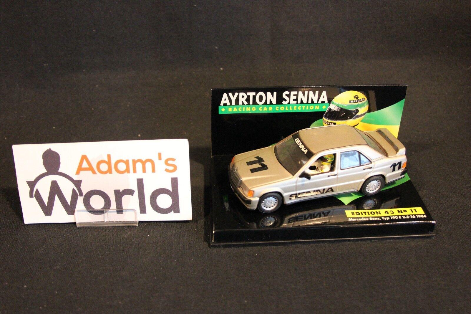 Minichamps Mercedes-Benz 190E 2.3-16 1984 1 43 Ayrton Senna  ASC (MM1)
