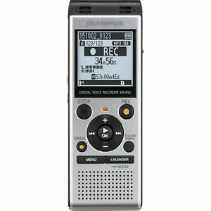 b0ff2db6fe9 Olympus Ws-852 4gb Digital Voice Recorder for sale online | eBay