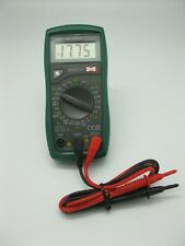 Mastech Ms8221d 1999 Count Digital Multimeter 15mm Lcd Data Hold Diode Test Us