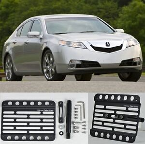 For Acura TL Front Bumper Tow Hook License Plate Relocator - Acura tl front bumper