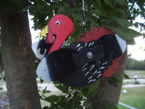 Black Turkey Whirligigs Whirligig Windmill Yard Art Hand made from wood