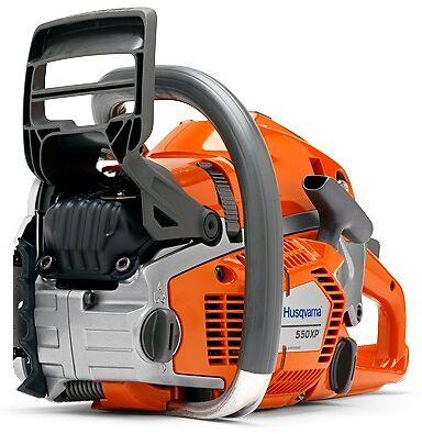 Husqvarna 550XP petrol pro X-Torq chainsaw 50.1cc (unit only) 2 yr warranty