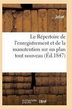 Le Repertoire de l'Enregistrement et de la Manutention Sur un Plan Tout...