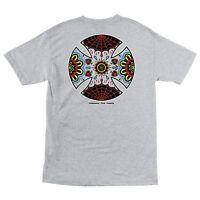 Independent Trucks Blood And Sweat Skateboard T Shirt Ash Medium on sale