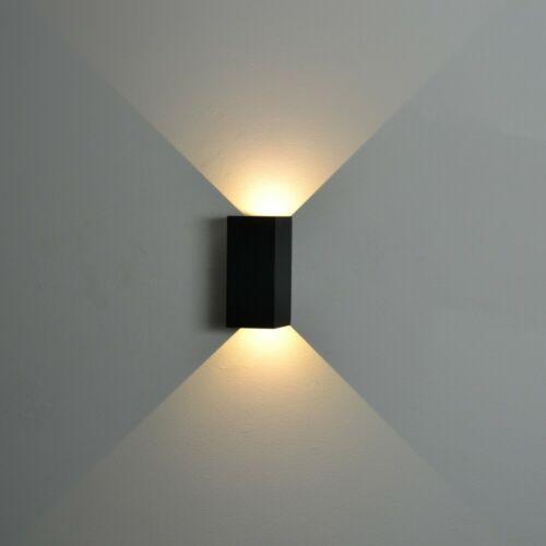 Nordlux norma LED Esterno-Lampada da parete 2 x 167lm GRIGIO LAMPADA MURO