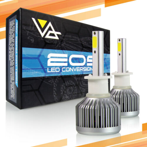 P.RA 66W 6000LM LED Headlight Conversion Kit H1 Fog Lights Bulbs 6000K 6K White