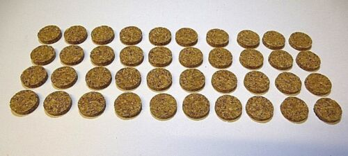 40 Pack 12mm Self Adhesive Cork Dot Pads Spacer Scratch Protector Picture Bumper
