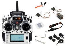 Spektrum DX18 18-Channel DSMX Transmitter Gen 2 w/ AR9020 Receiver md2 SPM18100