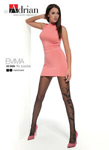 Beautiful-Transparent-Patterned-Tights-20-Denier-by-Adrian-034-EMMA-034