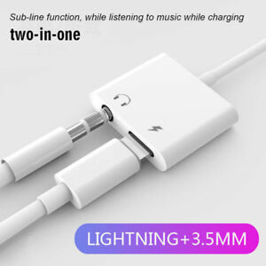 Charge-Headphone-Jack-Converter-Adapter-2-in1-Lightning-to-3-5mm-Aux-Audio-Cable