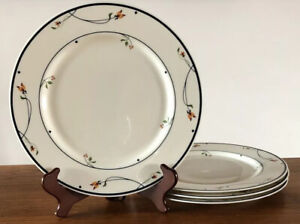 VTG-Ariana-Town-amp-Country-GORHAM-Dinner-Plates-Set-Of-4-10-5-Mint-Condition