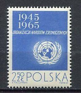 35731) Poland 1965 MNH 20th Anniversary Of United Nations 1v