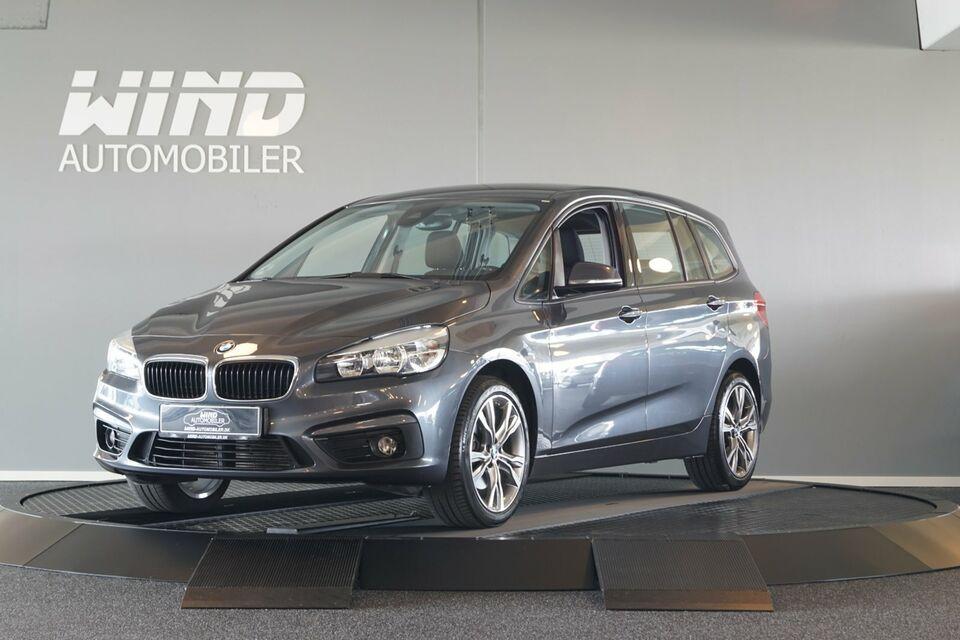 BMW 218d 2,0 Gran Tourer 7prs Diesel modelår 2016 km 113000
