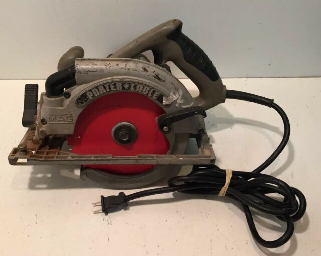 Porter Cable 423mag 7 1 4 15 Amp Corded Left Handed Lh Circular Saw For Sale Online Ebay