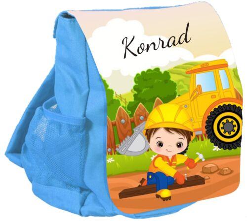 Kindergartenrucksack CHiCO Wunschname Rucksack BAGGER Kinderrucksack hellblau