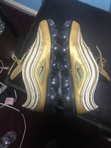 best website a3bd2 4ac40 Details about Nike Air VaporMax 97 Metallic Gold AJ7291-700 Air Max 97 Size  11 OG