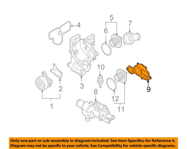 NISSAN OEM 13-18 NV200-Engine Water Pump Gasket 11062ET00A