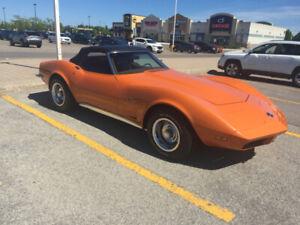 1973 Corvette Convertible L82 4 Speed