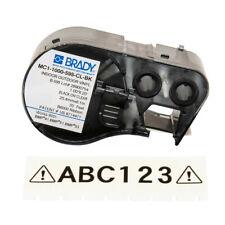 Brady 131597 Bmp41 Bmp51 Bmp53 Indoor Outdoor Vinyl Labels Mc1 1000 595 Cl Bk