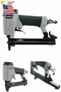 22-Gauge Crown Upholstery Stapler Pneumatic 3//8 in Staple Gun 1//4 NPT Air Tool