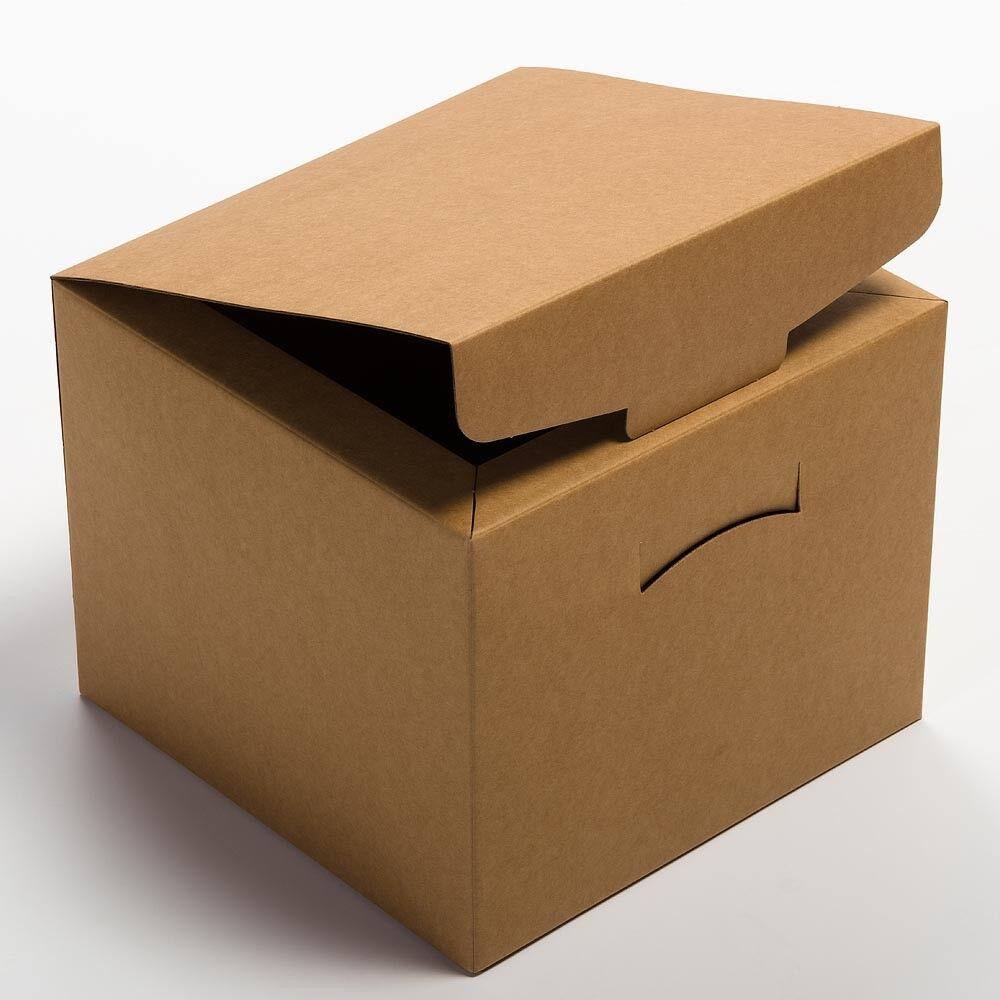 RUSTIC Kraft cesto scatola confezione confezione confezione da 10 Regalo Di Nozze Favore naturale 35446 6462c8