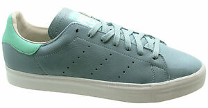 detailed look f5a73 2a8da Details about Adidas Originals Stan Smith Vulc Mens Trainers Blue Low Lace  Up M17182 D103