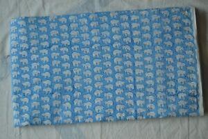 Indian-Small-print-Elephant-Handmade-Sanganeri-Fabric-hand-Block-Cotton-2-5-Yard