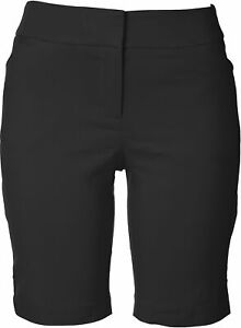 ATTYRE Womens Solid Bermuda Shorts