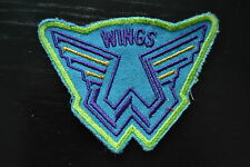 Wings ricamate patch 10x7cm