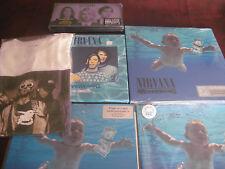 NIRVANA NEVERMIND COLLECTION BLUE VINYL + UK ISSUE + SINGLES + 4 LP BOX + BONUS