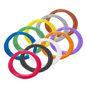 Berühmt 0,16€/m) 10m flexible Litze 0,09mm² sehr dünnes Kabel / flexibel IR23