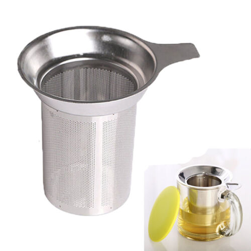 Stainless Reusable Mesh Tea Infuser Strainer Leaf Filter Sieve Cup Accessories !