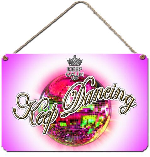 Garder Dancing Glitterball Plaque Murale Rose Pour les fans de strictement come dancing